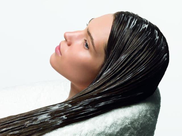 Смывка для волос маслом