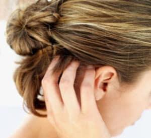 Болячки на голове в волосах