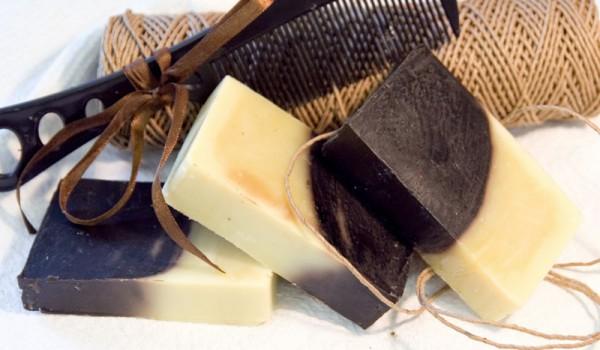 Мыло с березовым дегтем для волос