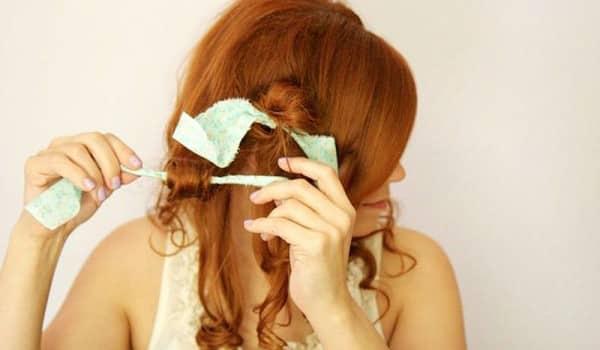 Средство для накрутки волос - тряпочки