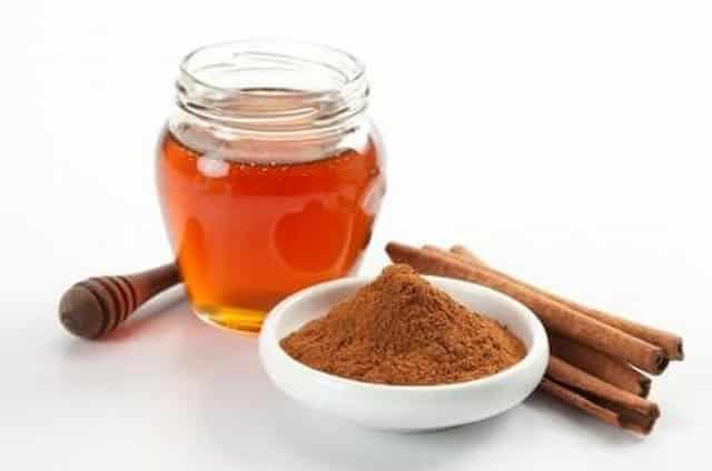 Ингредиенты для маски корица с медом