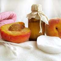 Персиковое масло от секущихся концов