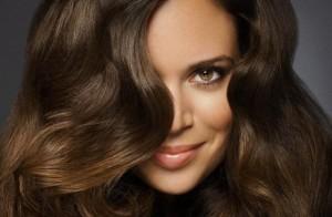 Фото - волосы после использования персикового масла