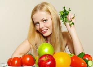 Продукты питания для роста волос