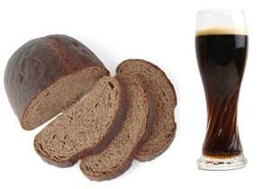 Ржаной хлеб и пиво