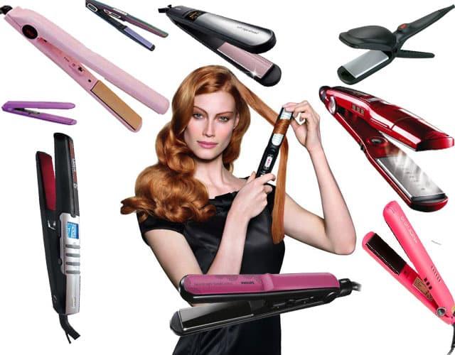 Фото: модели утюжков для завивки волос