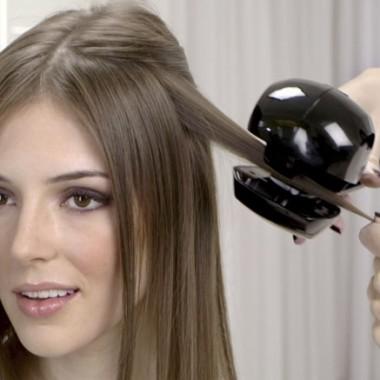 Как завить волосы автоматической плойкой