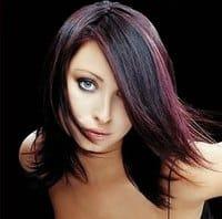 Окрашивание волос в два цвета