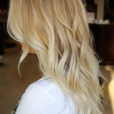 Омбре для светлых волос 3