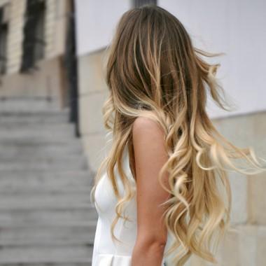Омбре для светлых волос