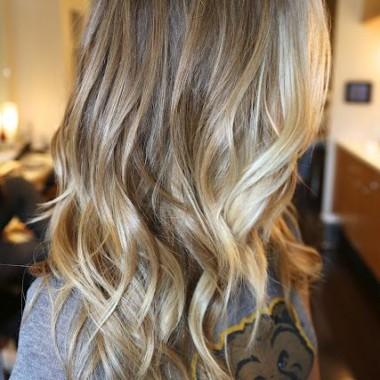 Омбре для светлых волос 4