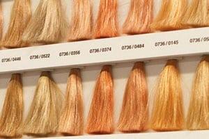 Различные оттенки блонда
