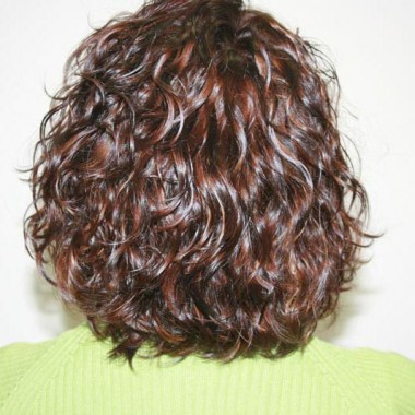 Волосы после биозавивки 1