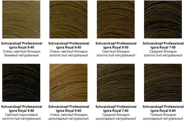 Игора для седых волос 1