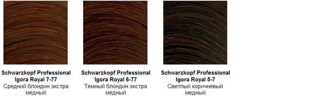 Игора - палитра шоколадных и красных оттенков 5