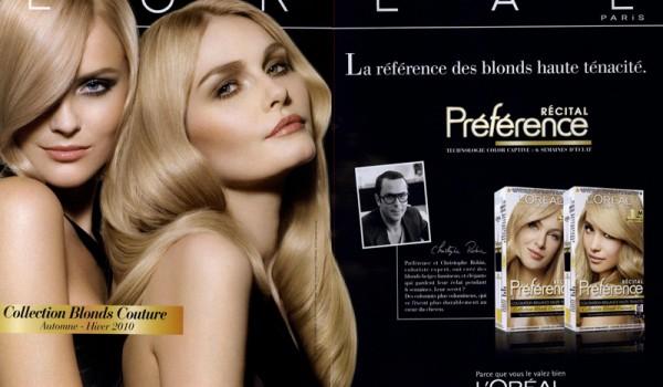 Оттенки красок для волос L'Oreal