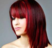 Окрашивание волос в два цвета с переходом