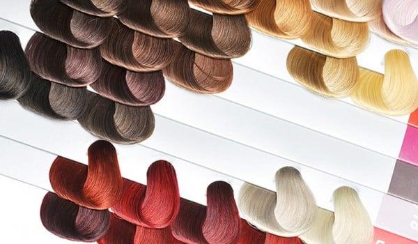 Палитра красок для окрашивания волос Палет