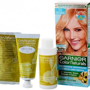 Цвета красок для волос Garnier