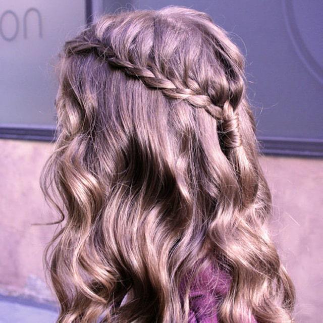 Как заплести косу - Водопад