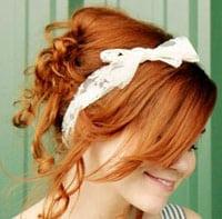 Накрутить волосы на тряпочки фото