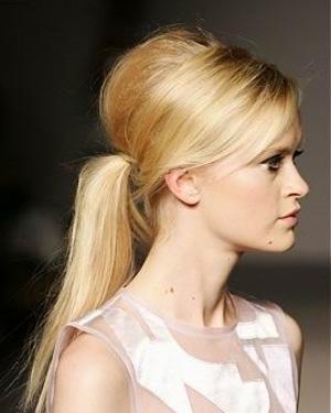 начес на длинные волосы фото