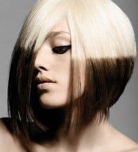 Метод двойного окрашивания волос