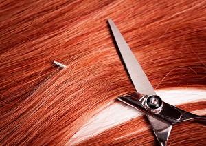 Фото волос и ножниц