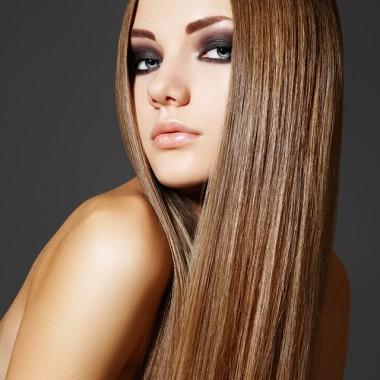 длинные волосы после кератинового выпрямления