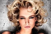 кудрявые укладки для коротких волос