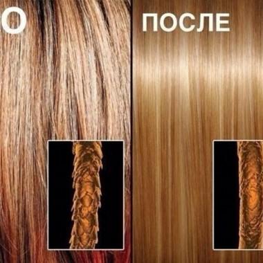 эффект кератинового выпрямления для волос