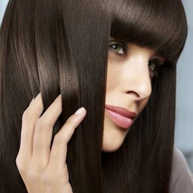 кератиновое выпрямление длинных волос