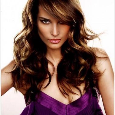 классическое брондирование на темных волосах
