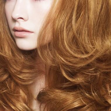 цветотип весна с рыжими волосами