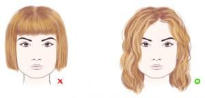 как подобрать стрижку для квадратного лица