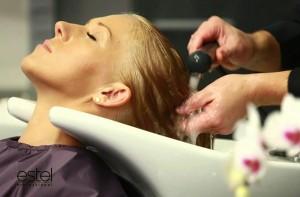 как проходит процедура экранирования волос Estel