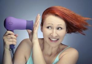 выпадение волос от механических повреждений