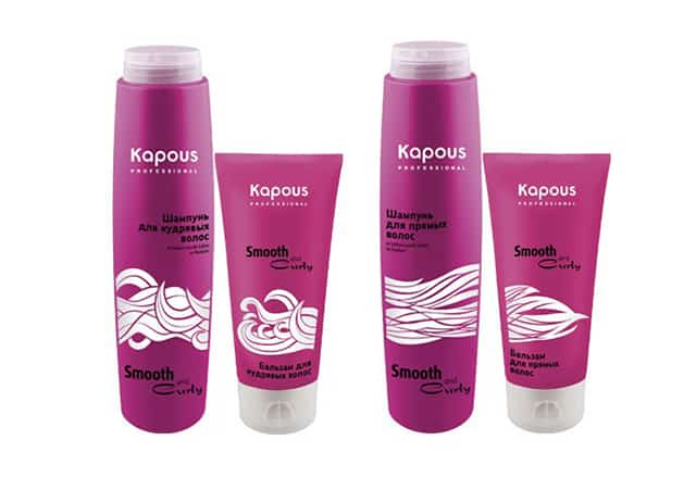 Kapous smooth and curly