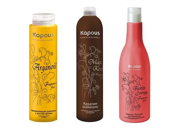 шампуни Kapous Fragrance Free