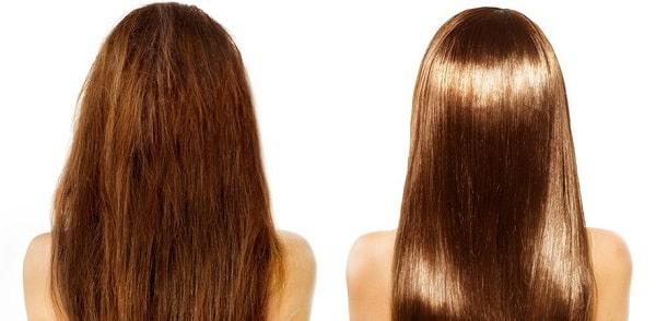 Фотография прямых волос