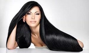 Фотография блестящих волос