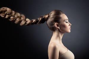 Фотография длинной косы