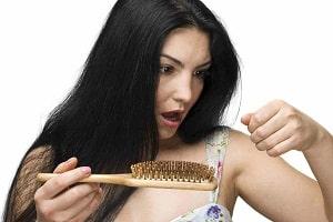 Фотография выпадения волос