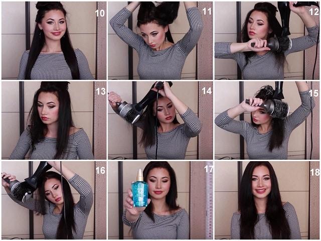 Фотография выпрямления волос 2