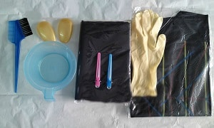 Фотография инструментов для окраски