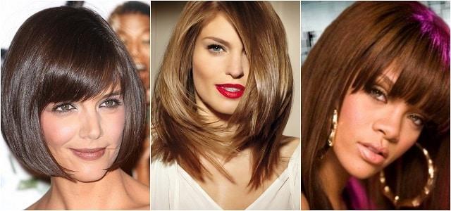 Фотография девушек с разными оттенками шоколада на волосах