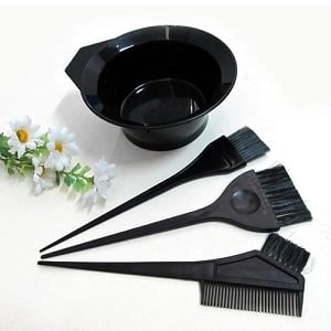 Фотография материалов для волос