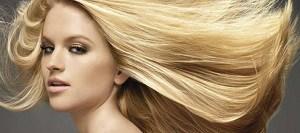 """Девушка с  """"блондированными"""" волосами"""