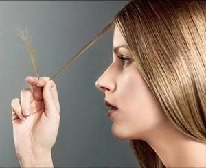 Посеченные кончики волос