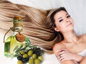 Оливковое масло и девушка